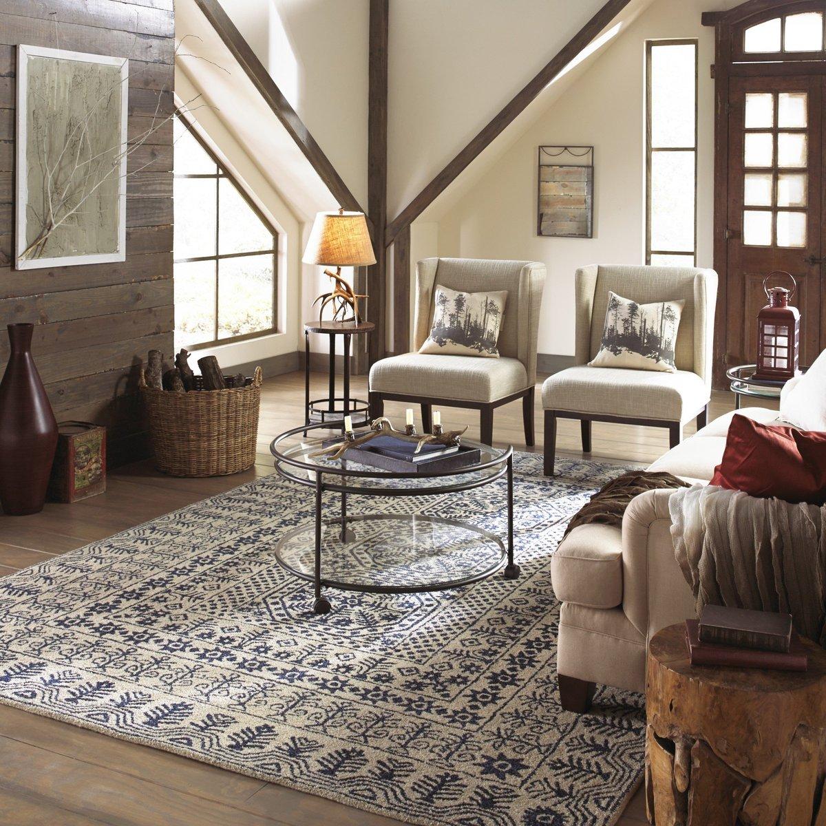 Modern Rustic Cozy Living Room Ideas