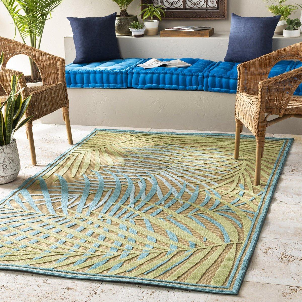 Tropical Outdoor Rug Ideas