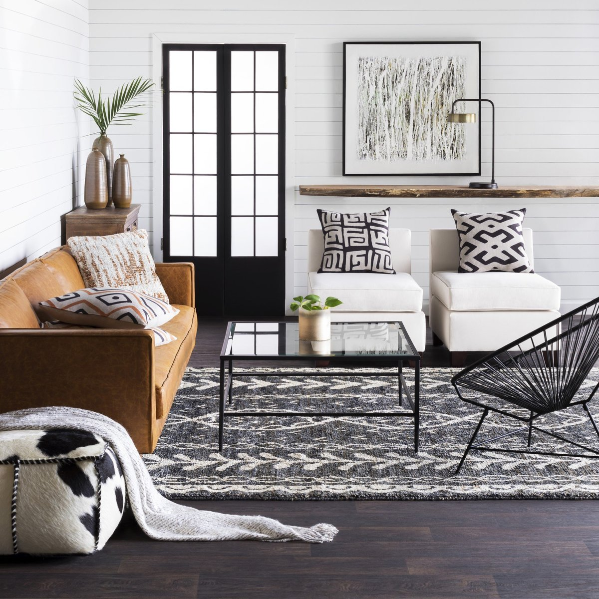 Add some global inspiration to your living room