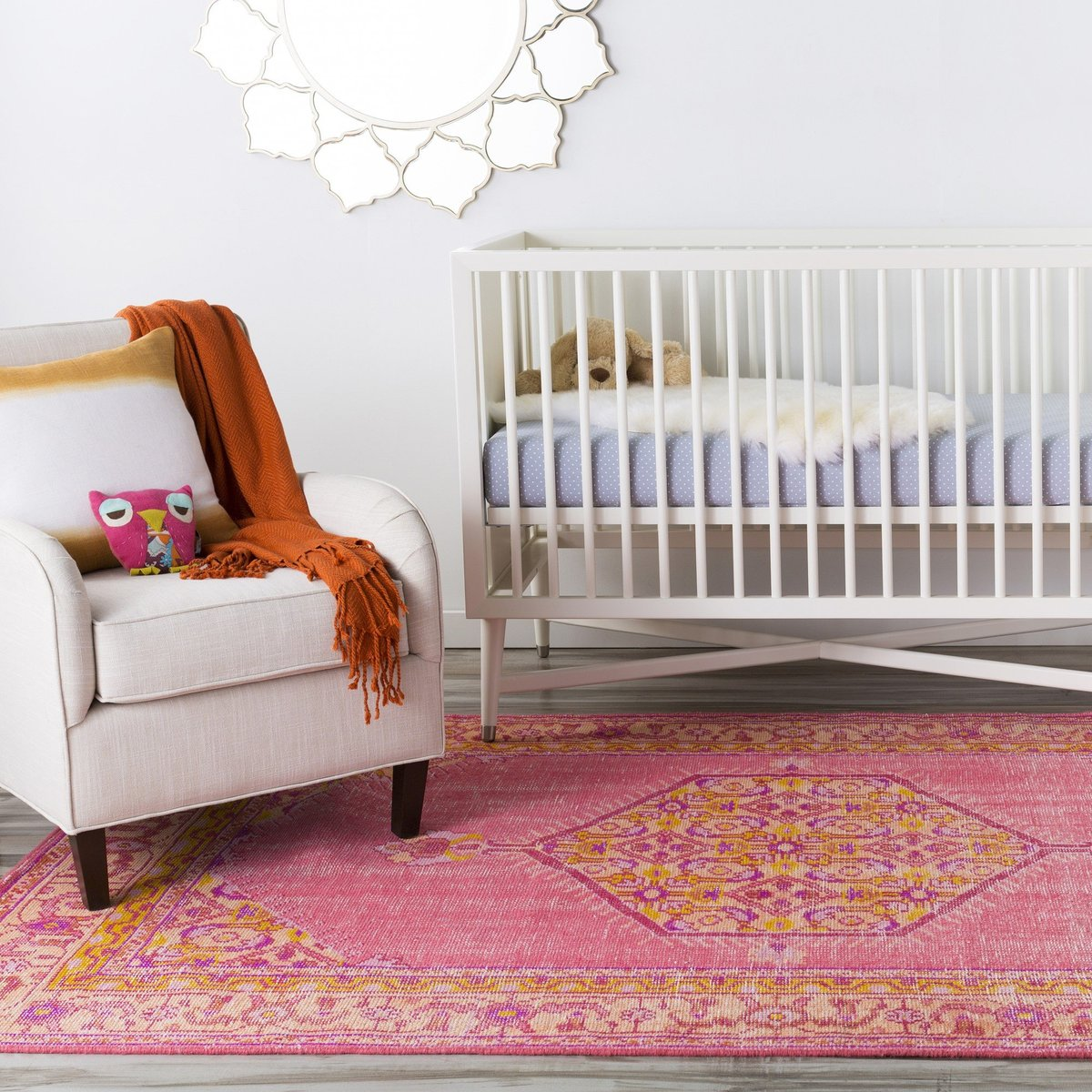 Bright and Colorful Nursery Rug Ideas