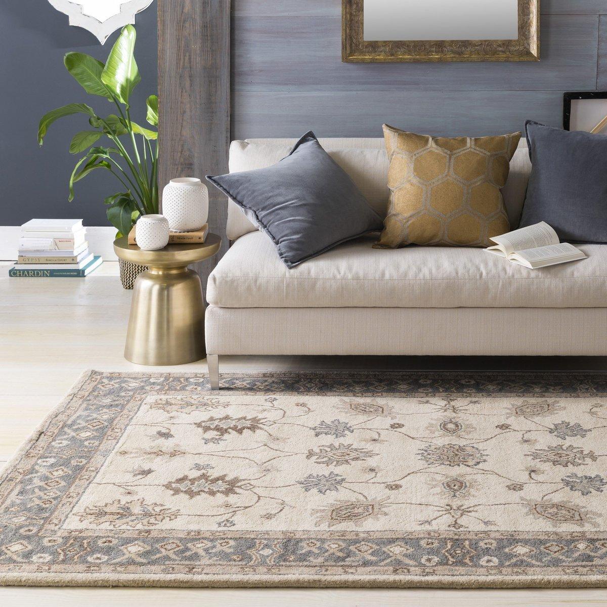Gold Glam + Grey Living Room Ideas