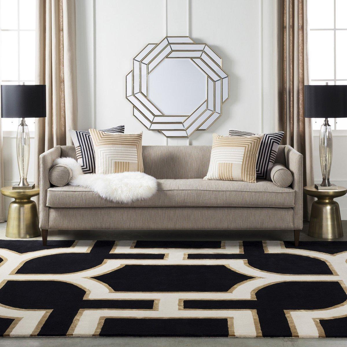 Shapes & Color - Formal Living Room Design Tips