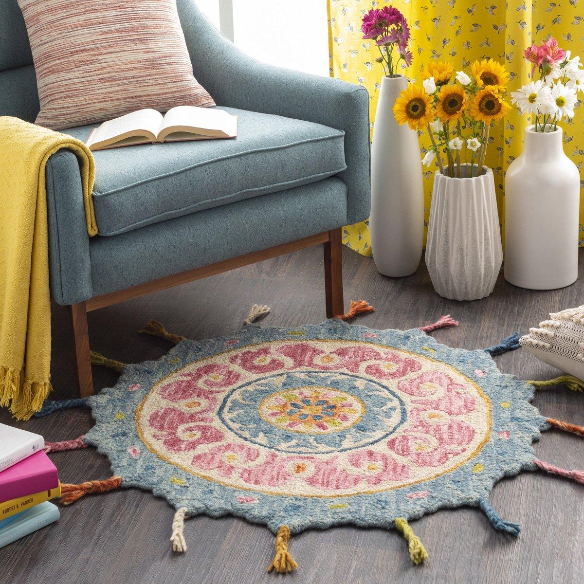 Charming Chair - Boho Living Room Ideas
