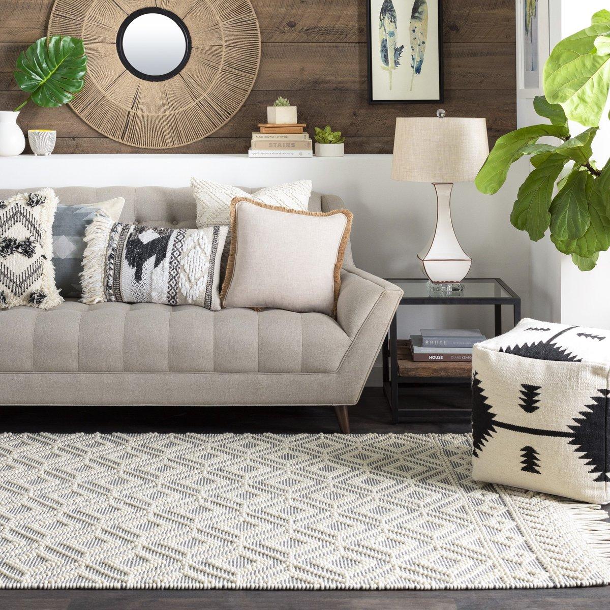 Textural Delight Grey Living Room Decor Ideas