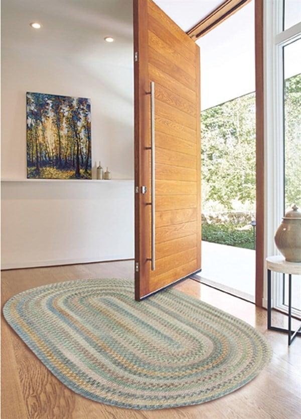 Calming Hues Entryway Rug Ideas