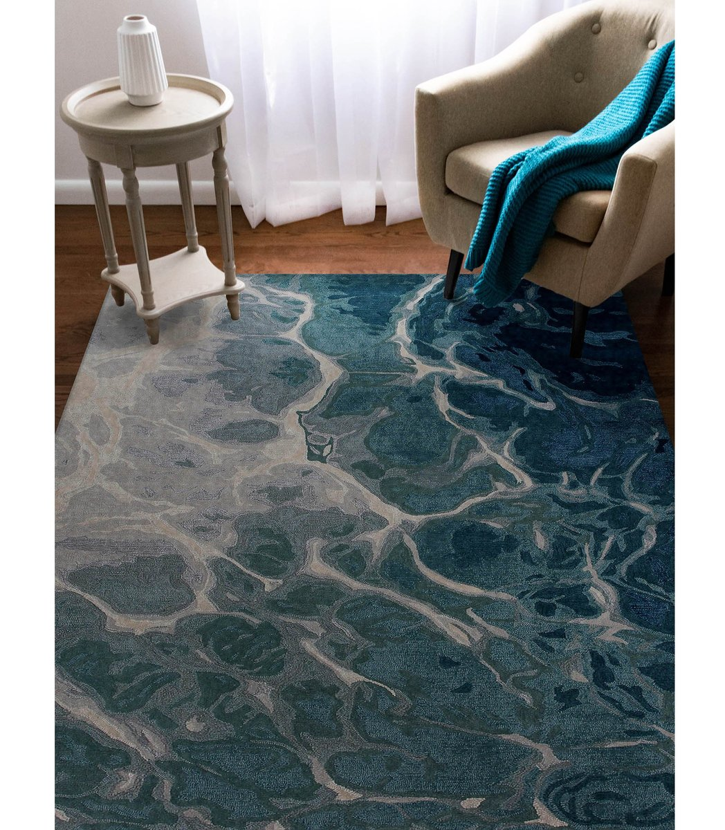 Liora Manne Corsica Water Area Rugs Wool Abstract Area Rugs Rugs Direct