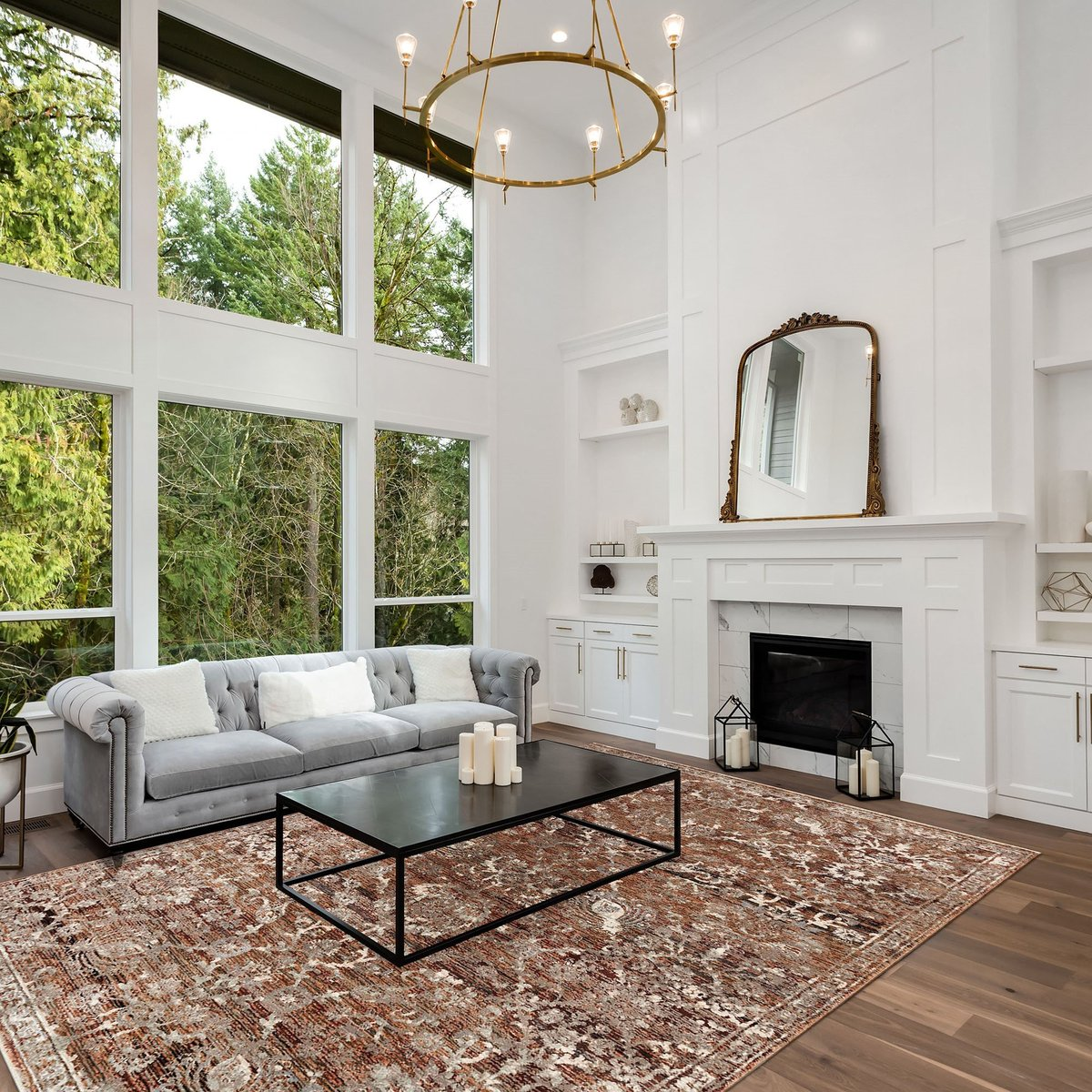 Lights, Camera...Gorgeous - Formal Living Room Decorating Tips