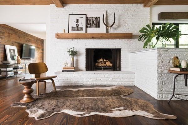 Natural Beauty- Rustic Living Room Ideas
