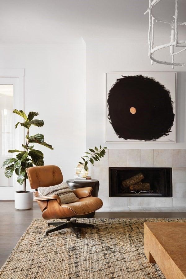 Mid-Century Comfort Living Room Decor Ideas