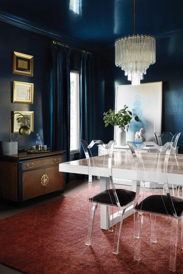 Glam Dining Room Rug Ideas