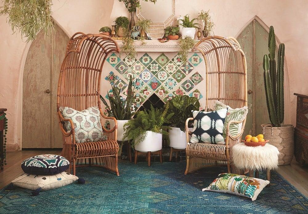 Conversation for Two - Boho Living Room Decor Ideas