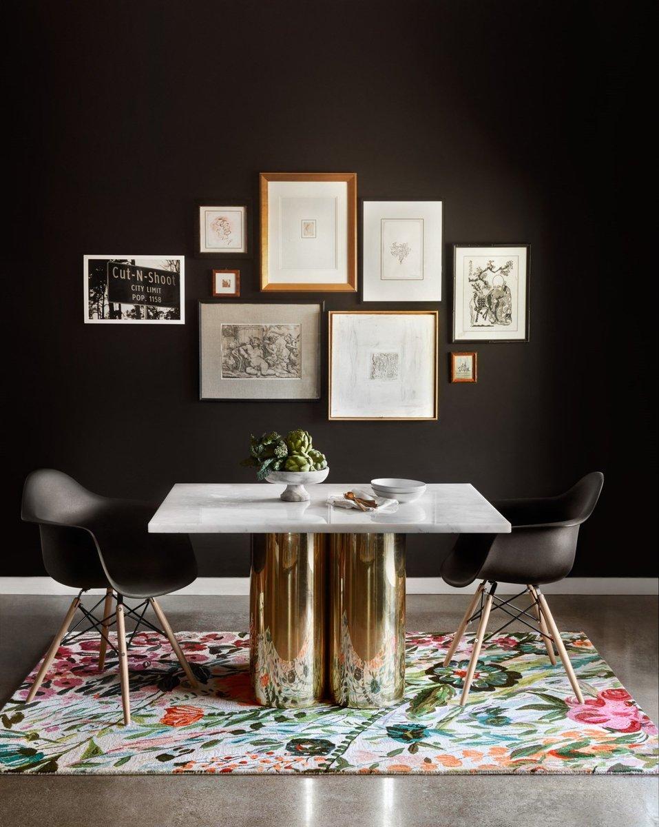 Floral Dining Room Rug Ideas