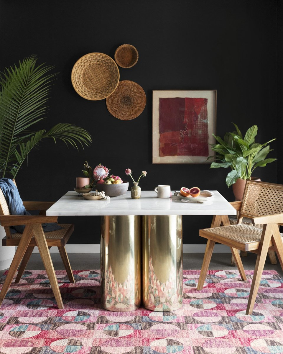 Eclectic Glam Dining Room Decor Ideas