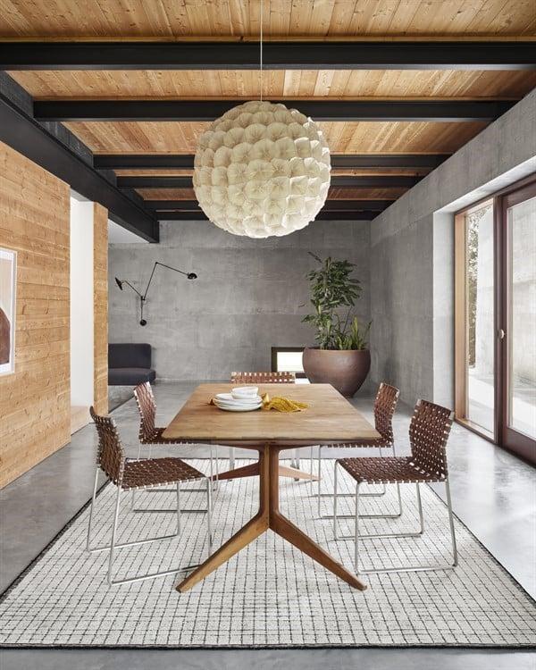 Industrial Dining Room Rug Ideas