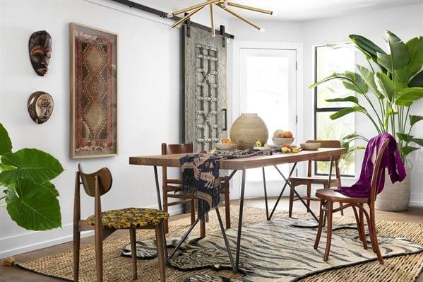 Boho Dining Room Rug Ideas