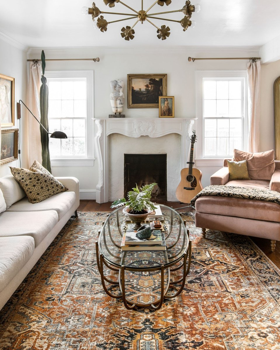 Bronze Accents - Stunning Formal Living Room Ideas