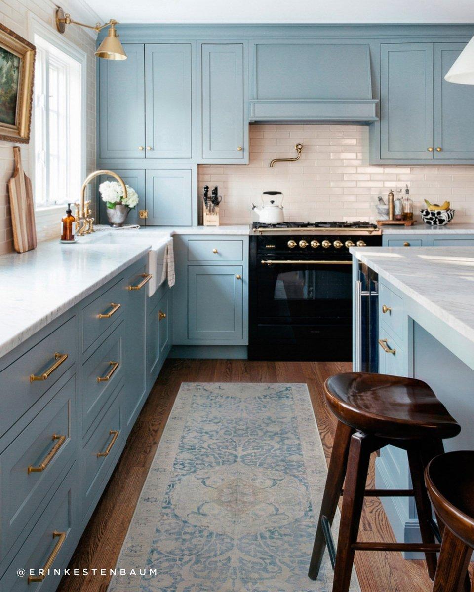 Blissful Blues Kitchen Decor Ideas