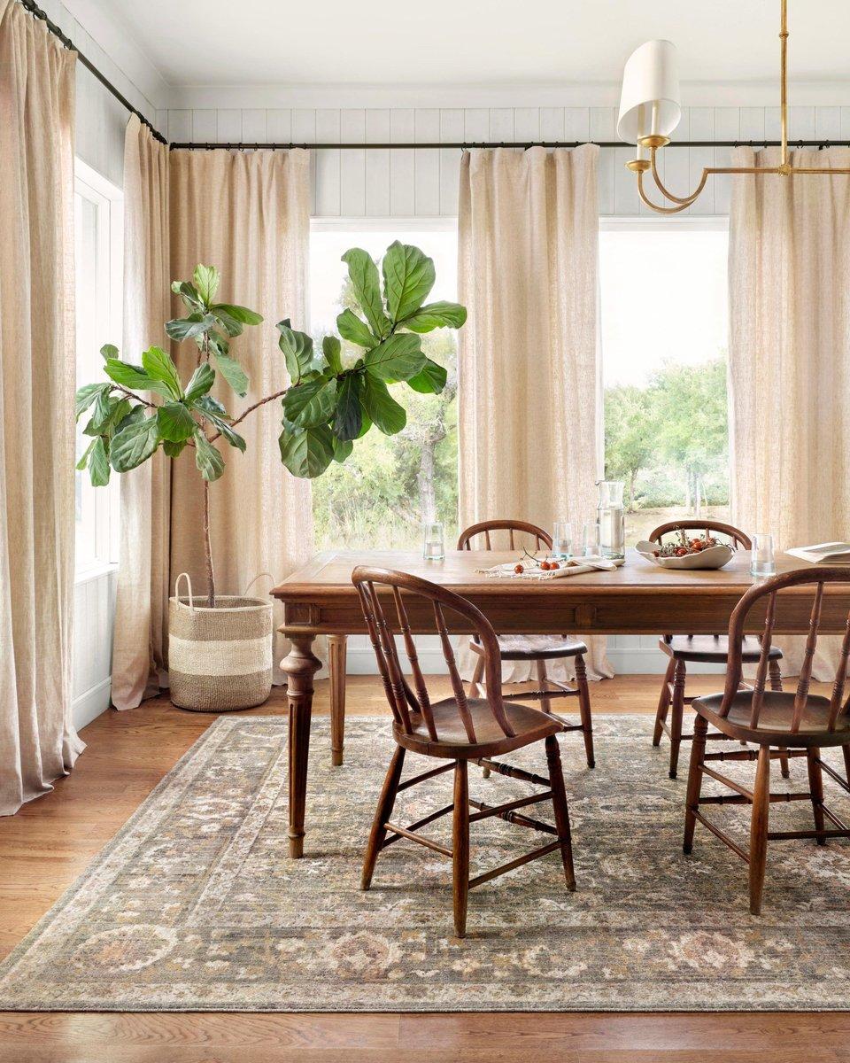 Natural Neutrals Dining Room Decor Ideas