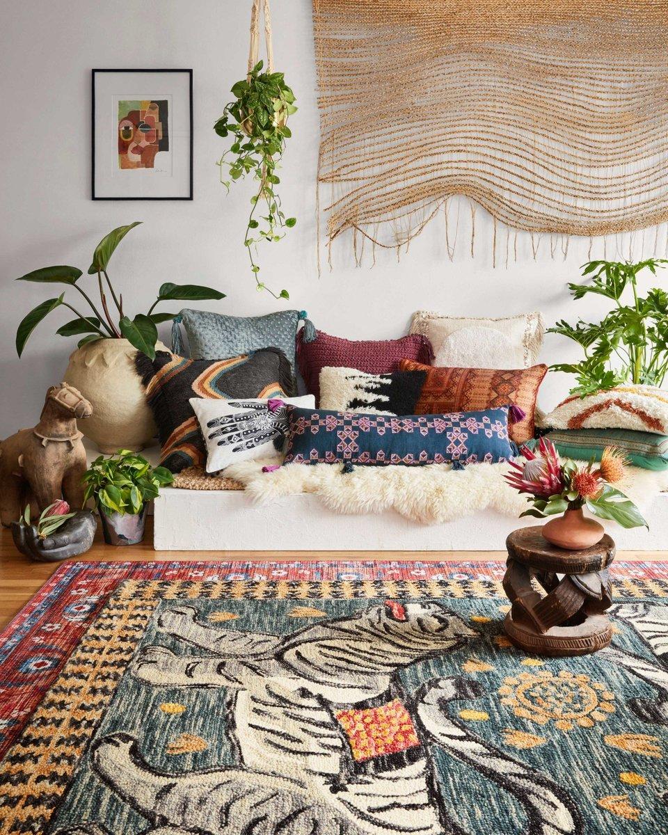 Pillow Pile - Cozy Living Room Ideas