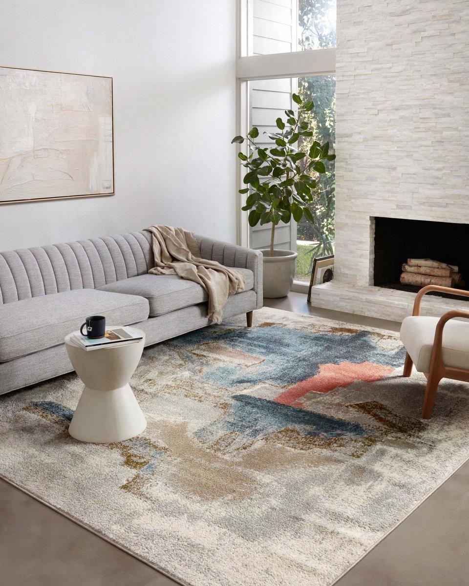 Painterly Pattern Living Room Decor Ideas