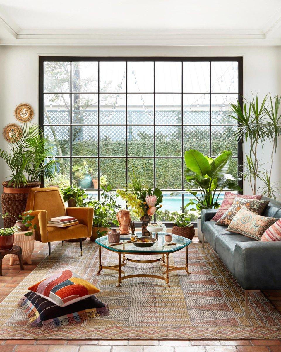 Sensory Stimulation - Boho Living Room Ideas