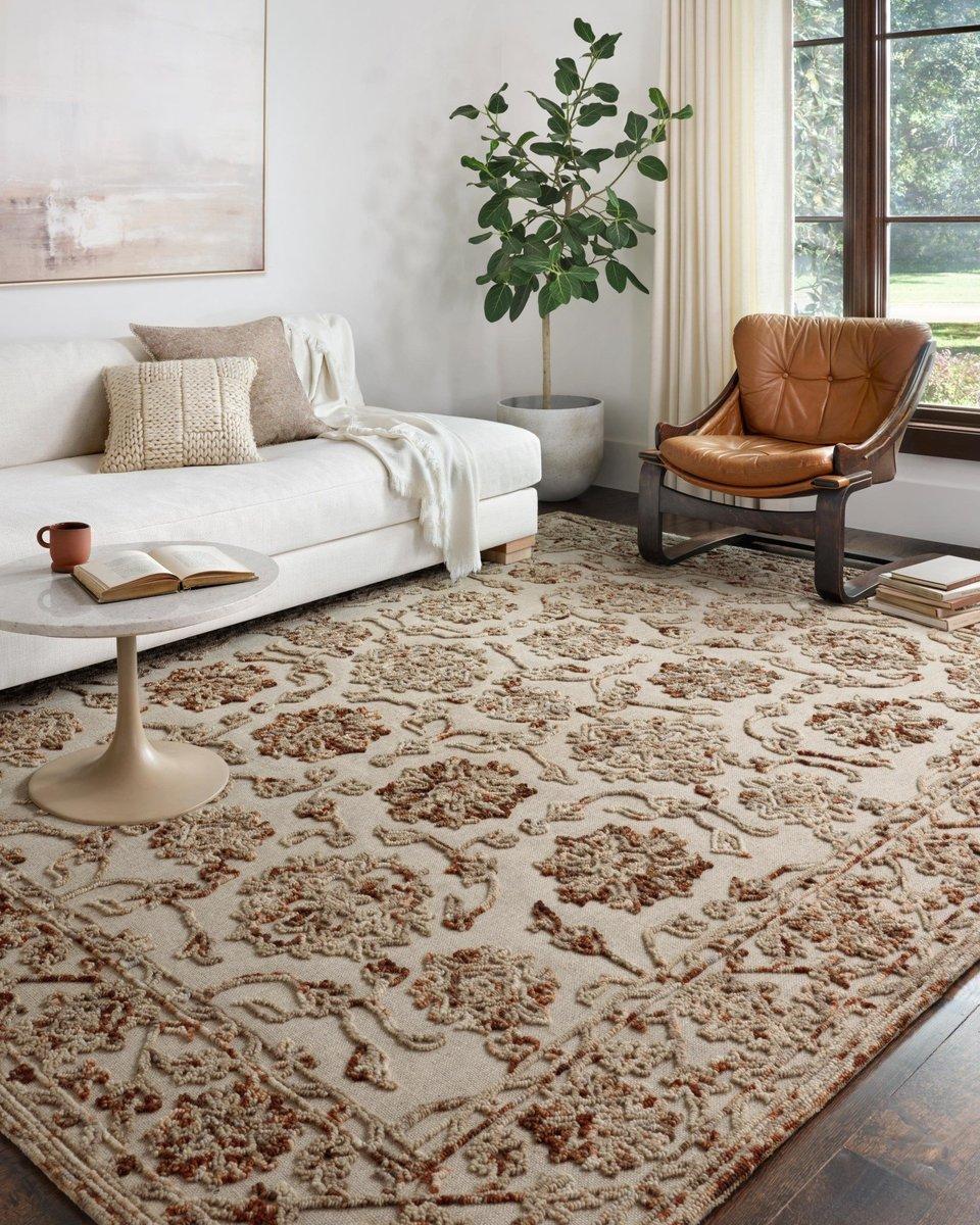 Textured Rug - Living Room Decor Ideas