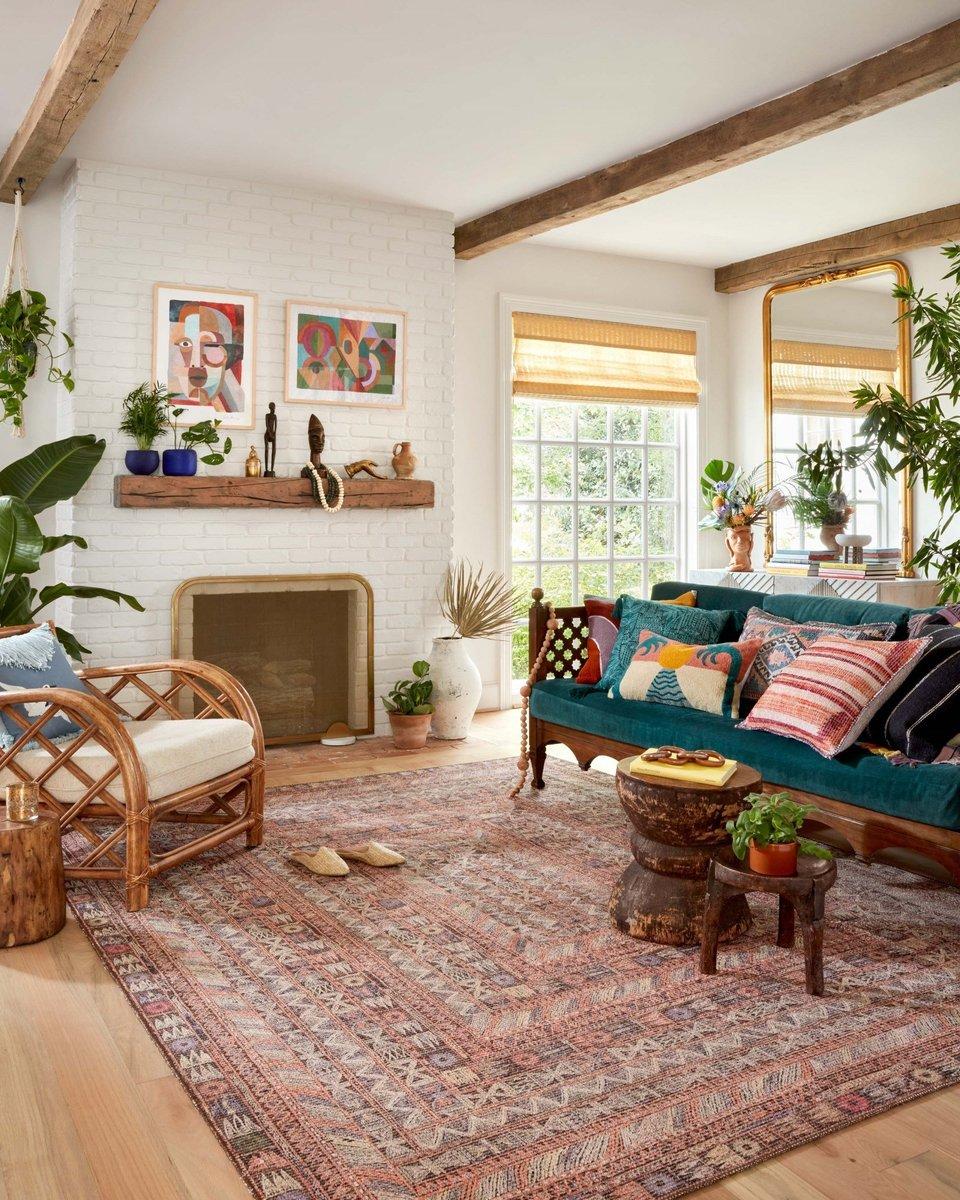 Boho Living Room Decor Ideas