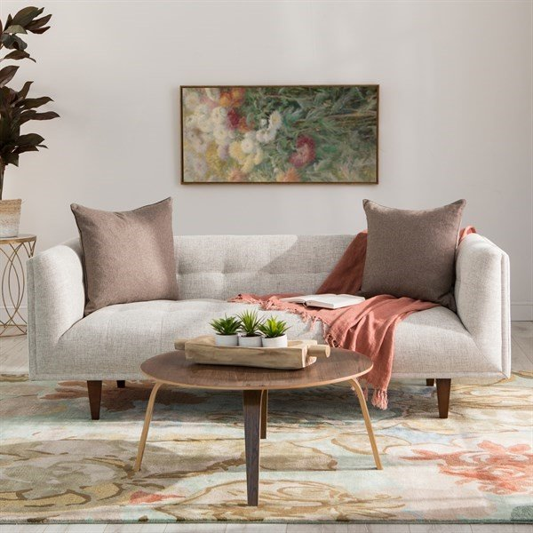 Understated Floral Living Room Decor Ideas