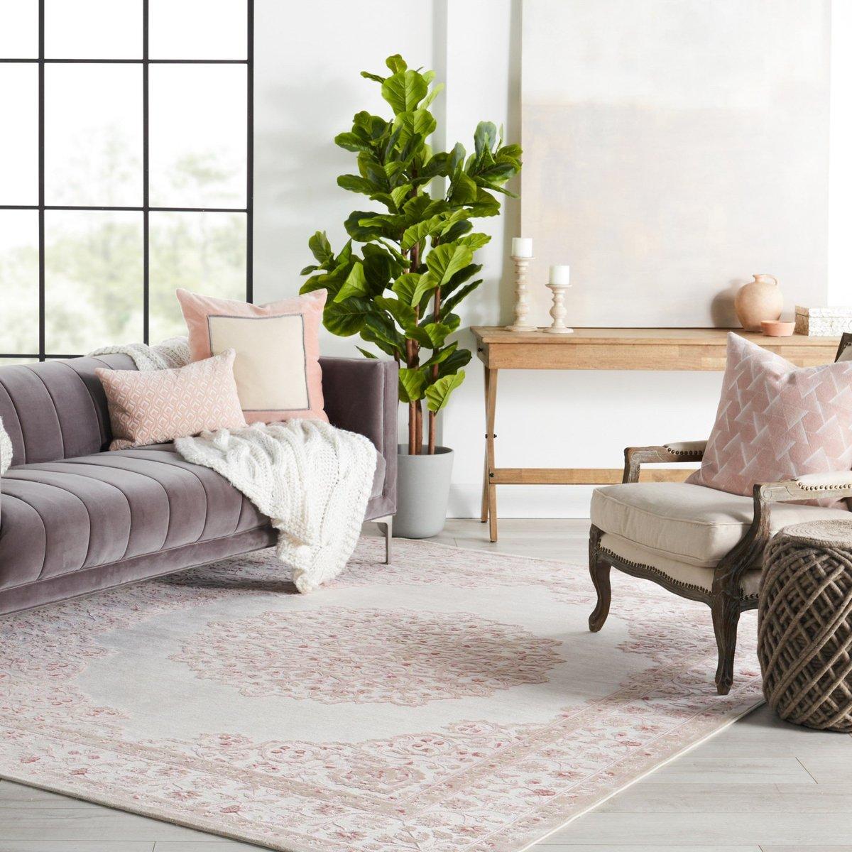 Pink Living Room Decor Ideas
