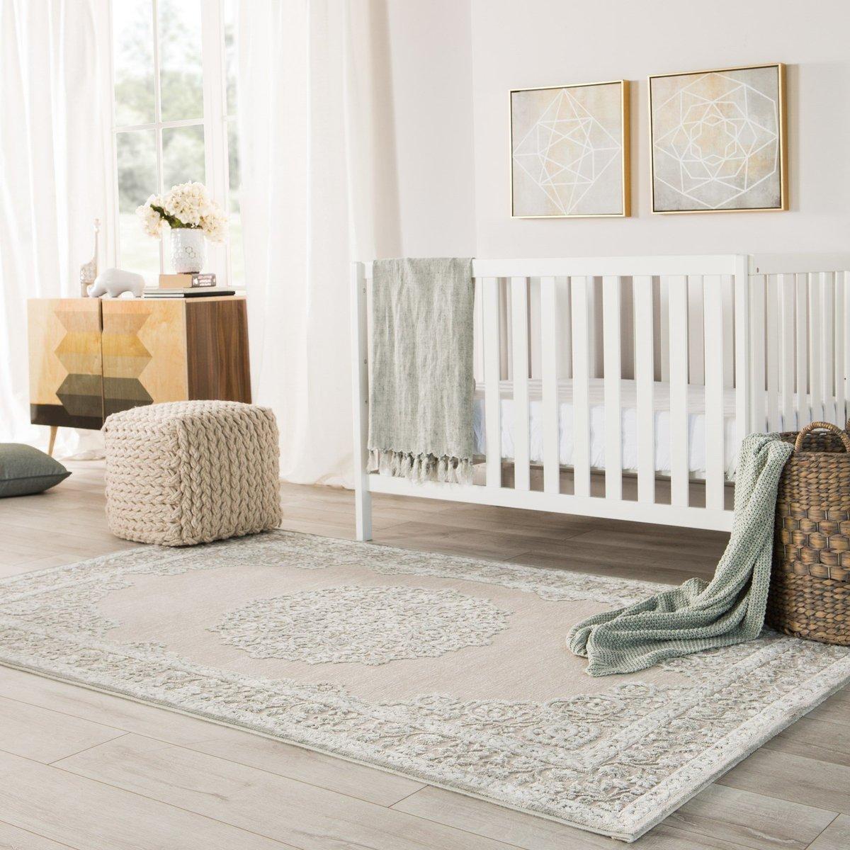 Neutral Nursery Rug Ideas