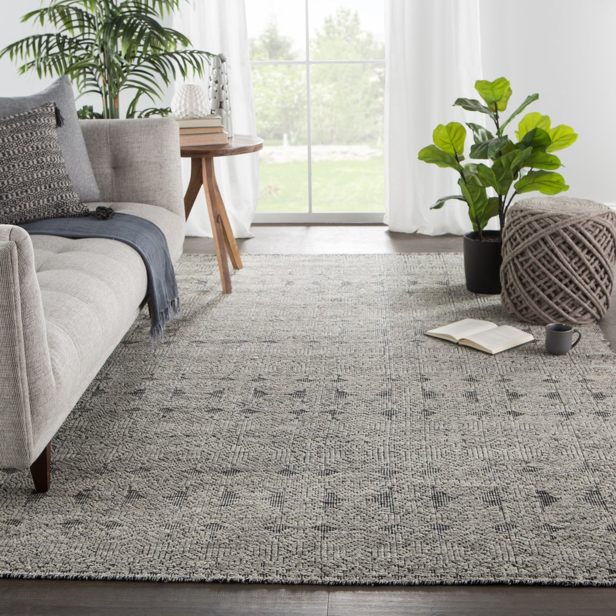 Playing with Grey Living Room Ideas