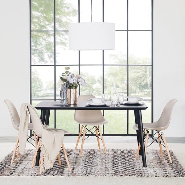 Layered Dining Room Rug Ideas
