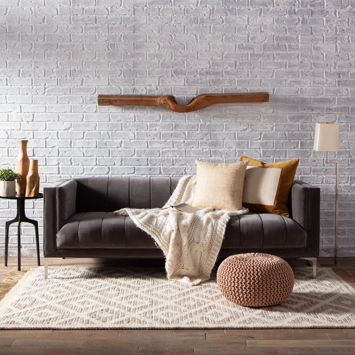 Neutral Boho Living Room Decor Ideas