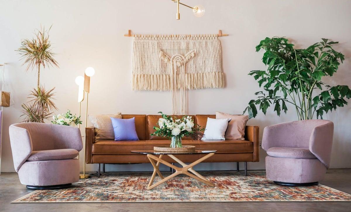 Bohemian Glamour Living Room Decor Ideas