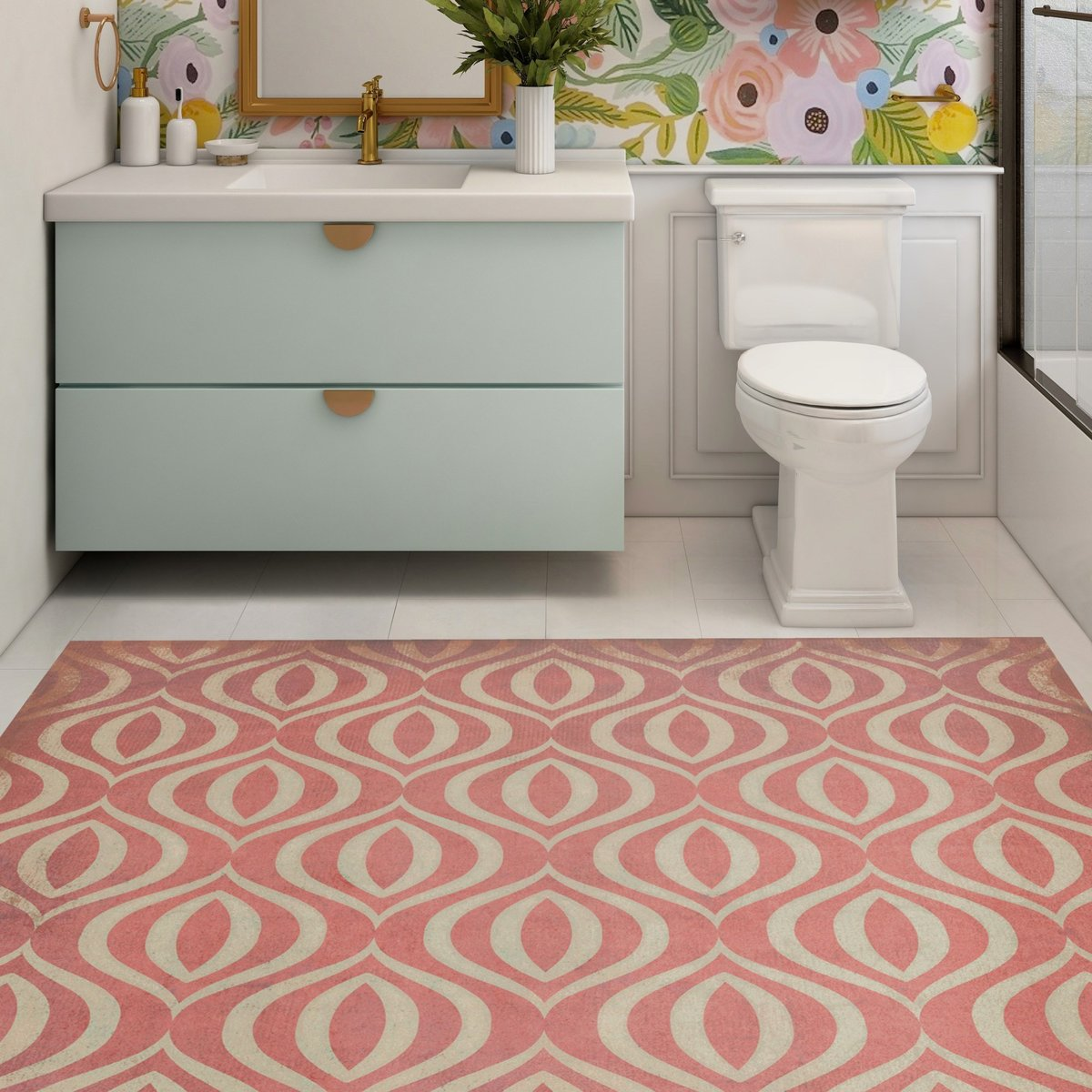 Colorful Bathroom Decor Ideas
