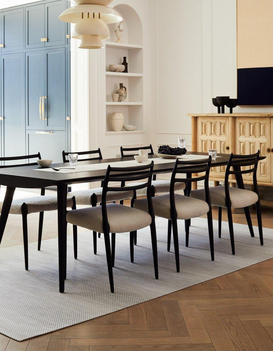 Six-Person Simplicity Dining Room Decor Ideas