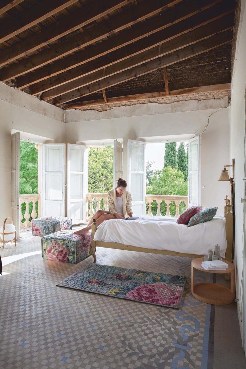 Floral Getaway Bedroom Decor Ideas