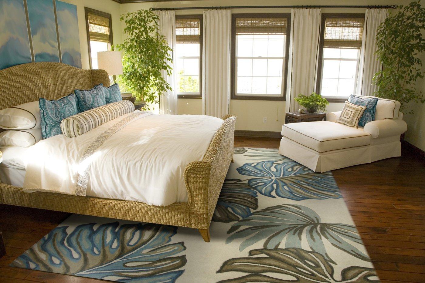 Tropical Escape Bedroom Decor Ideas
