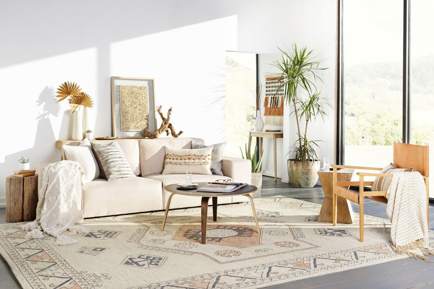 Adobe Boho Living Room Decor Ideas