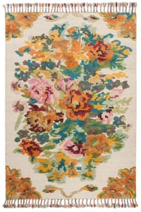 Floral Wool Rugs Rugs Direct