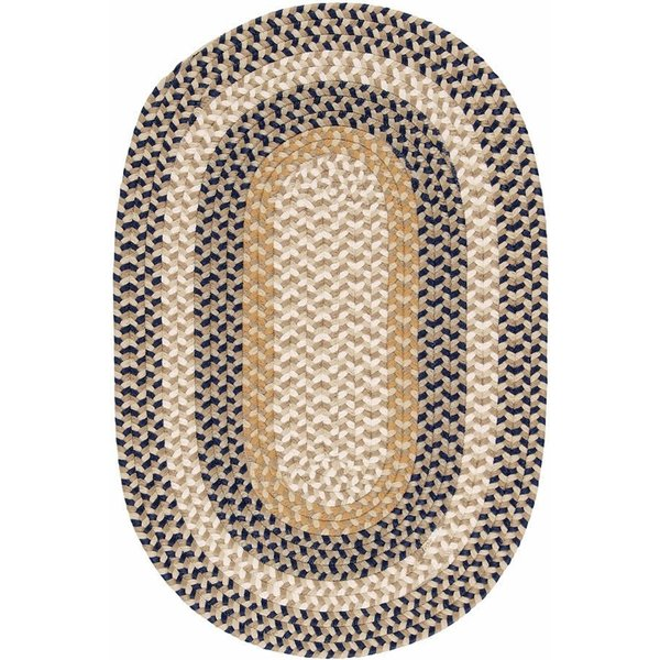 Blue Crest (BU-55) Country Area Rug