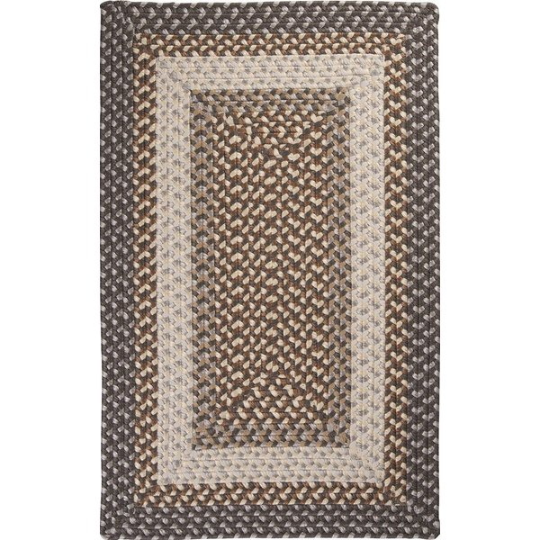 Misted Gray (TB-49) Country Area Rug