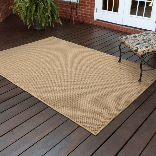 Sand Solid Area-Rugs