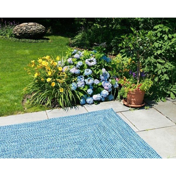 Blue Wave (CA-59) Country Area Rug