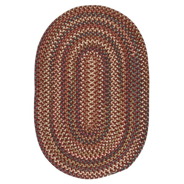 Rust (CV-79) Country Area-Rugs