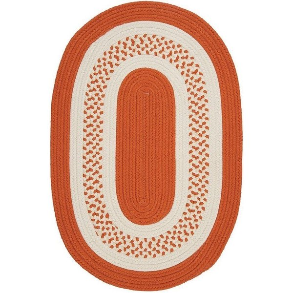 Orange (NT-21) Country Area-Rugs