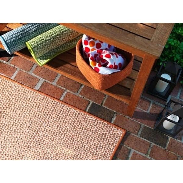 Orange (OT-19) Contemporary / Modern Area Rug