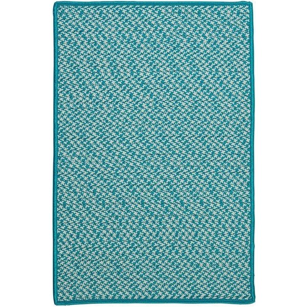 Turquoise (OT-57) Contemporary / Modern Area Rug