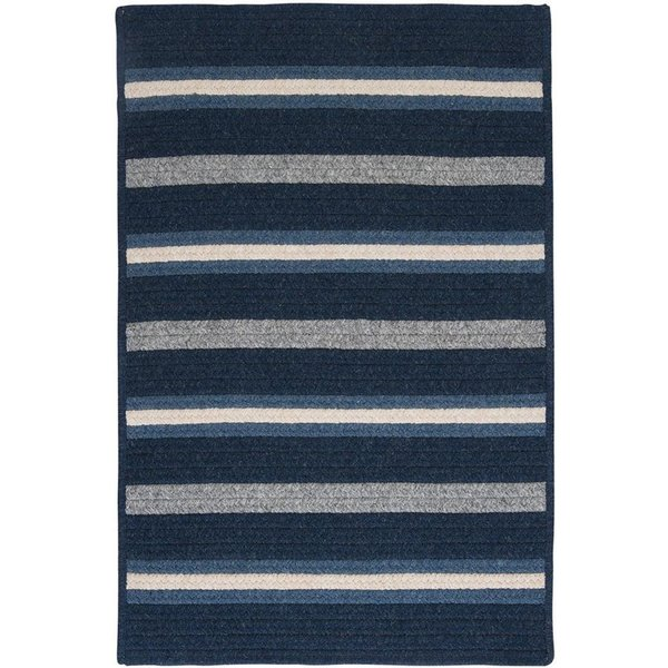Navy (LY-29) Country Area Rug