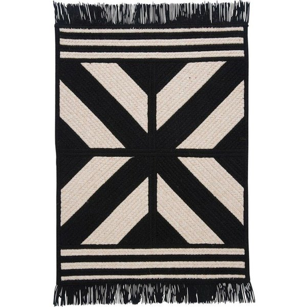 Black (ED-29) Country Area Rug